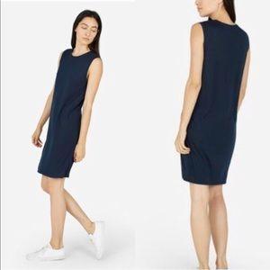 Everlane Navy Sleeveless Dress